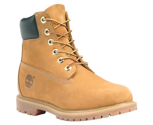 Timberland Ladies 6-Inch Premium Waterproof Boots in Wheat Waterbuck