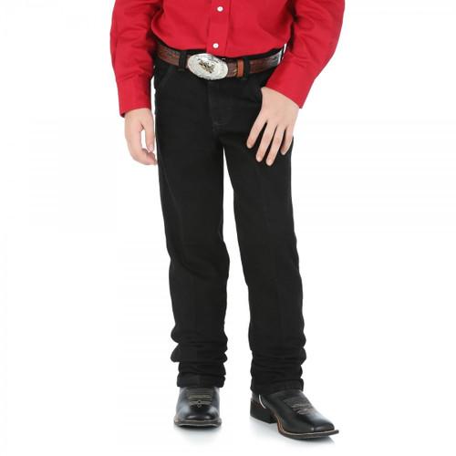Wrangler Kids Cowboy Cut Original Fit Jeans in Black Sizes 1-7  (Bulk Deal, Buy 4 for $64.95 Each!)