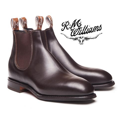 RM Williams Dynamic Flex Craftsman in Chestnut B543Y