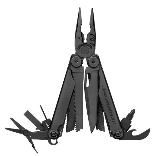 Leatherman Wave in Black - With Leather Sheath