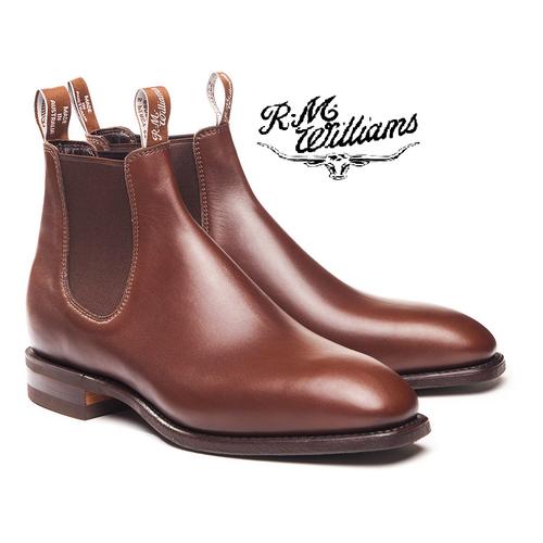 RM Williams Comfort Craftsman in Dark Tan B543Y
