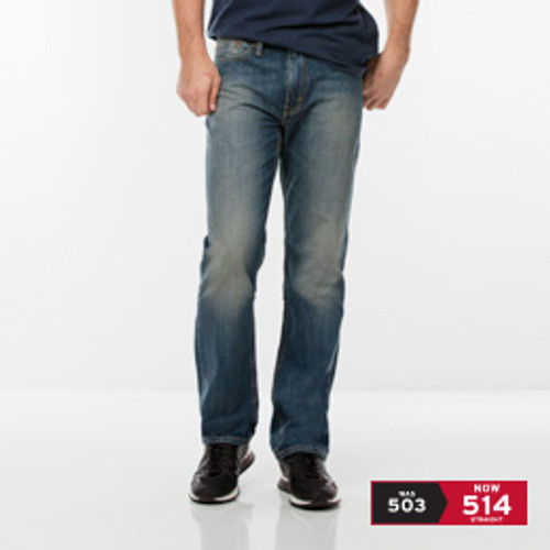 Levi's 514 Straight Jeans Faded Blue
