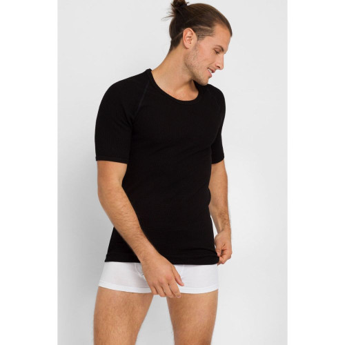Holeproof Aircel Thermal s/s T-shirt Black