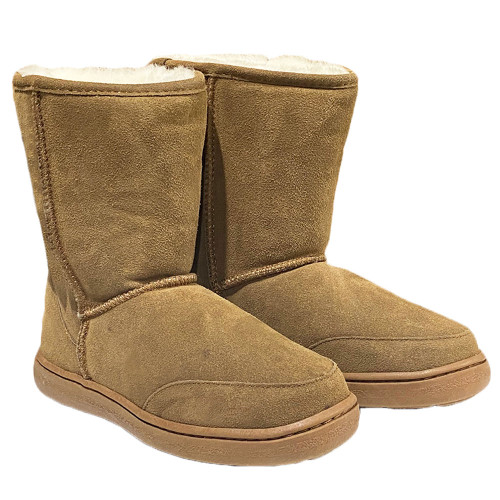 Born Out Here Sheepskin Ugg Boots Light Brown