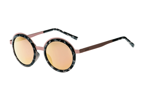 Liive Sunglasses Anna Mirror Matt Rose