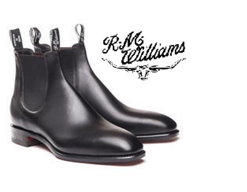 RM Williams Signature Craftsman in Black B540C