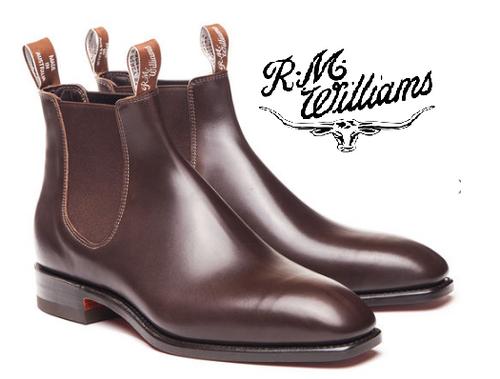 RM Williams Signature Craftsman in Chestnut B540C