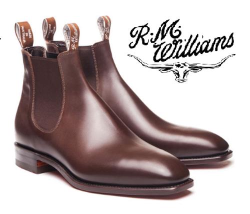 RM Williams Signature Craftsman in Dark Tan B540C