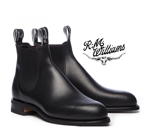 RM Williams Comfort Turnout Boots in Black