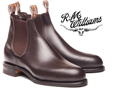 RM Williams Comfort Turnout Boots in Chestnut