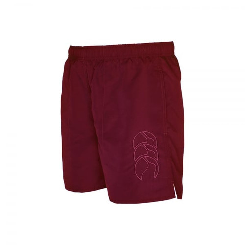 Canterbury E723928 Junior Tonal Tactic Shorts in Maroon