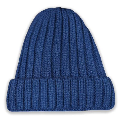 Born Out Here Fleece Lined Beanie Navy
