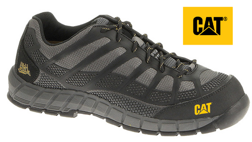 CAT Streamline  CT Composite Toe Safety Shoe in Black/Charcoal P718127(Wide Fit)