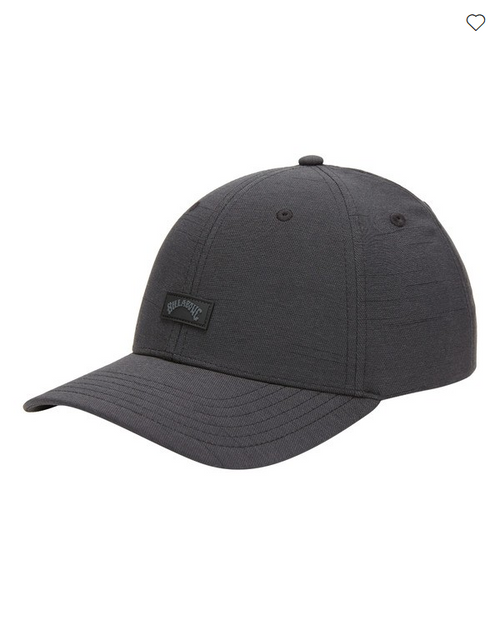 Billabong Ripstop Snapback Cap in Black