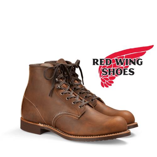 Redwing 3343 Blacksmith Copper Rough & Tough Lace-Up Boots