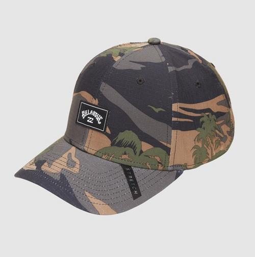 Billabong A/Div Surftrek Stretch Cap in Camo Print