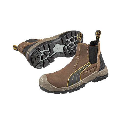 Puma 630267 Tanami Composite Toe Boots in Brown