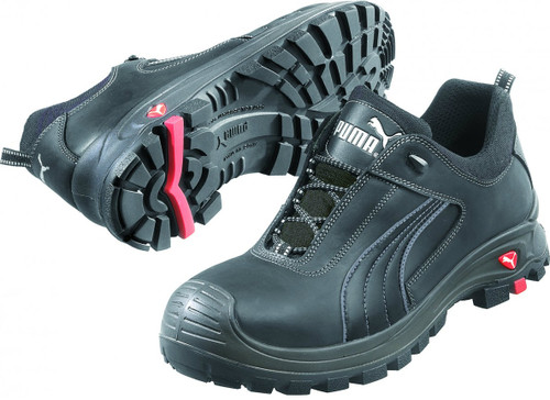 Puma 640427 Safety Cascades Composite Toe Shoes in Black