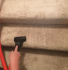 Black compact hand twin 3 cleaning carpet stairs.