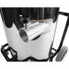Antares 25 Gallon Stainless Industrial & Machine Shop Multi-purpose Wet-dry Commercial Vacuum on Mobile Tip Trolley