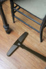 "Bare Floor Brush 14"" (356mm) Friction Natural Fill Black 1.375"" (35mm) Neck"