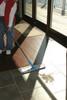 "DustUp™ Microfiber Wet Mop Pad Pad 6"" x 19.5"" Blue"