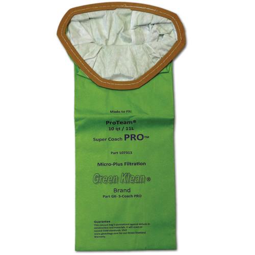 10 Packs of 10 Bags for Pro-Team Super Coach Pro 10 Quart