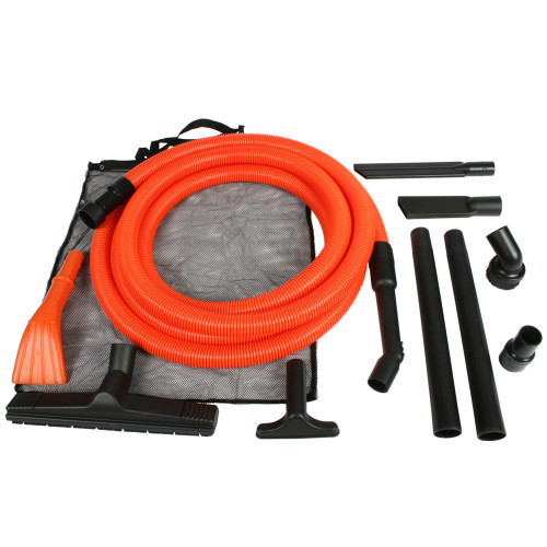 Wet/Dry Vacuum Accessory Kit with 25-Ft. Hose