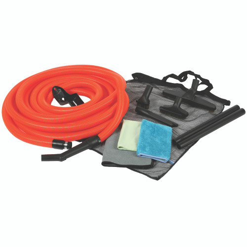 50 Ft. Premium Garage Kit with Orange hose
