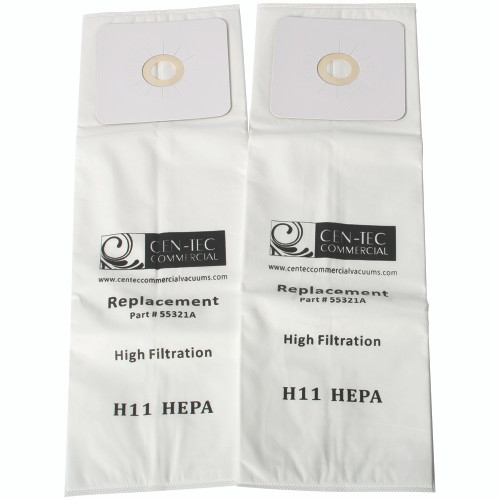 HEPA Central 2-Pack Vacuum Bags for Nutone, CV & Micro