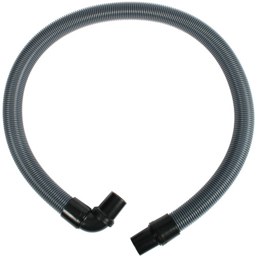 1.5 inch by 54 inch crushproof hose with a swivel cuff and a 90 degree swivel cuff.
