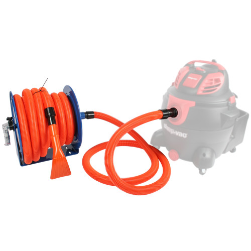 Hose Reel with 1.5 Inch x 50 Ft. Hose & 6 Ft. Connecting Hose