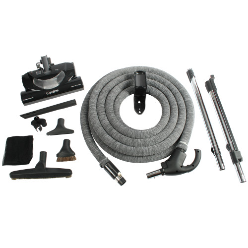 Central Vacuum Accessory Package Including CT20QD Electric Power Nozzle & 35 Ft. Direct Connect Total Control Hose