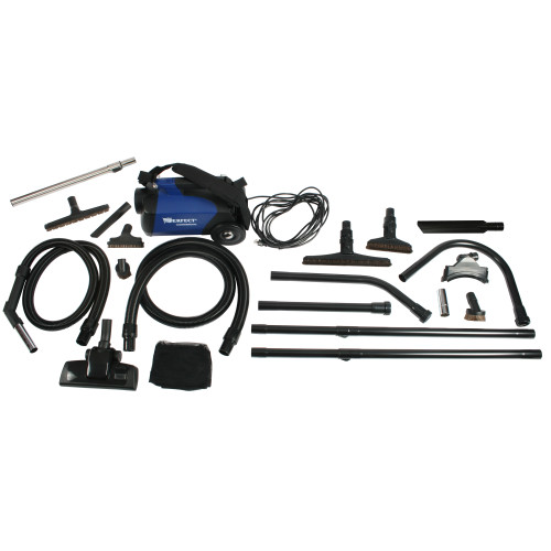 C105 Canister Vacuum and 18 ft. High Reach Accessory Kit