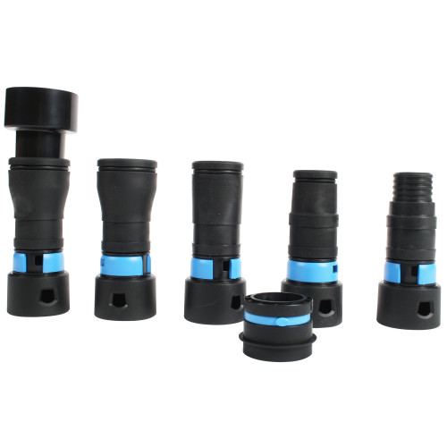 1.25 Inch Quick Click Power Tool 5 Piece Adapter Set