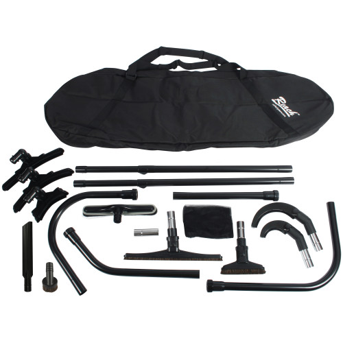 Complete Commercial 2 Wand Reach Kit with Carry Bag