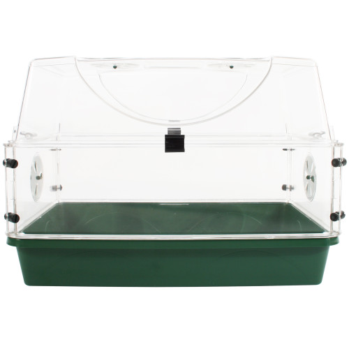 Medium Seed & Herb Domed Propagator with Vented Side Height Extension and Security Clip Set