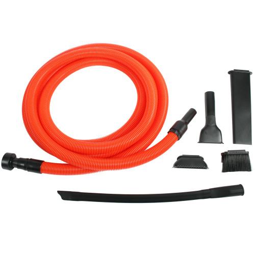 Premium Home Shop Vacuum Commercial Grade hose, Premium Accessories & Flexible Crevice