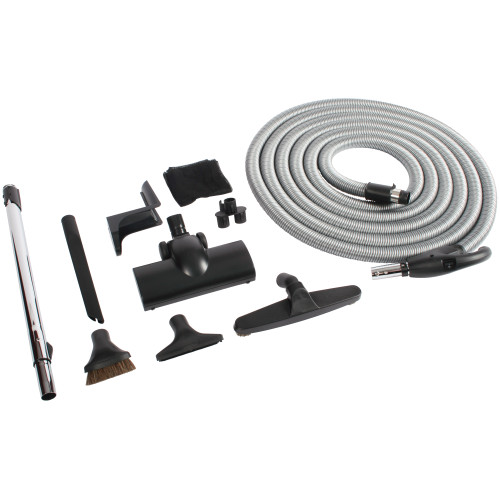 Light Weight Black Turbine Kit with Hose, Wand, & Accessories
