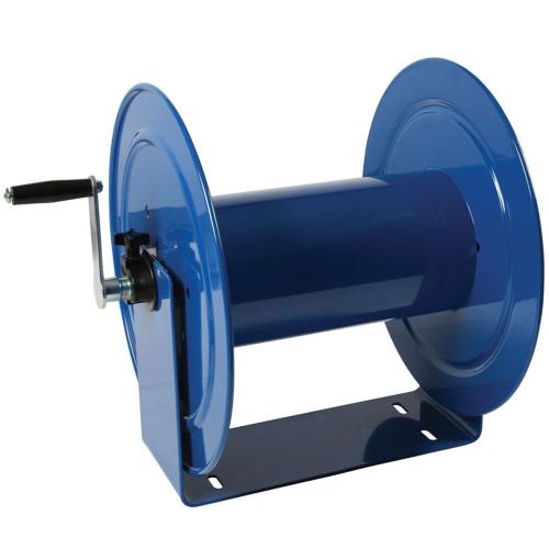 Light-Industrial Vacuum Hose Reel with Hand Crank