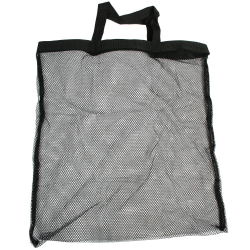 Mesh Caddy Bag 16.5 Inch x 19.75 Inch Black