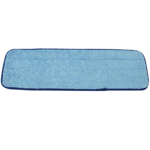 DustUp Microfiber Wet Mop Pad Pad 6 Inch x 19.5 Inch Blue