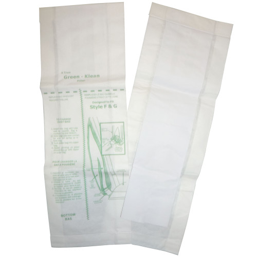 Package of 10 Vacuum Bags for Clark-Alto Models 300 & 400 using F&G Paper Bags