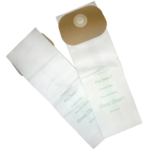 10 Packs of 10 Vacuum Bags for Tennant - Nobles, ProTeam & SSS