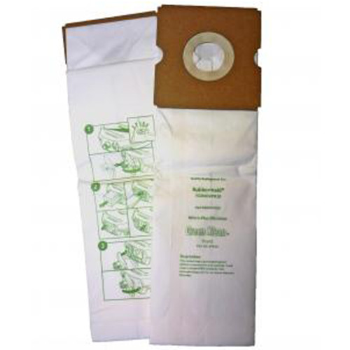 10 Packs of 10 Bags for Rubbermaid DVAC 1 Pass