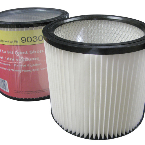 Case of 8 Shop-Vac Multi-Fit Pleated Cartridge Filters Wet/Dry Press Fit