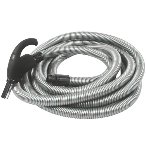 3200 Series Soft Grip Low Volt Hose with Chrome Friction Stub, XS8 Wall End 50 Ft. (15.2m)