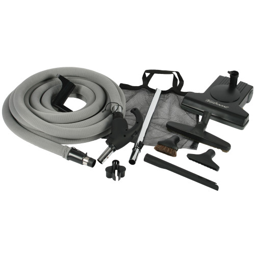 Turbocat Central Vacuum Kit with 35 Foot Universal Connect Hose