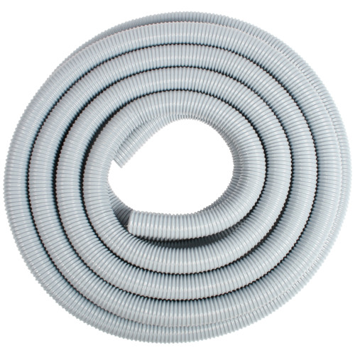 "2"" X 50 Foot General Purpose  Gray Wire Support Hose with Nylon Reinforcement Web"