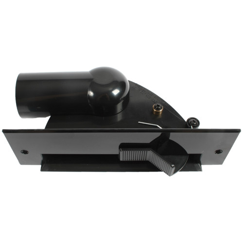 Central Vacuum Automatic Dustpan Sweep Inlet, Black